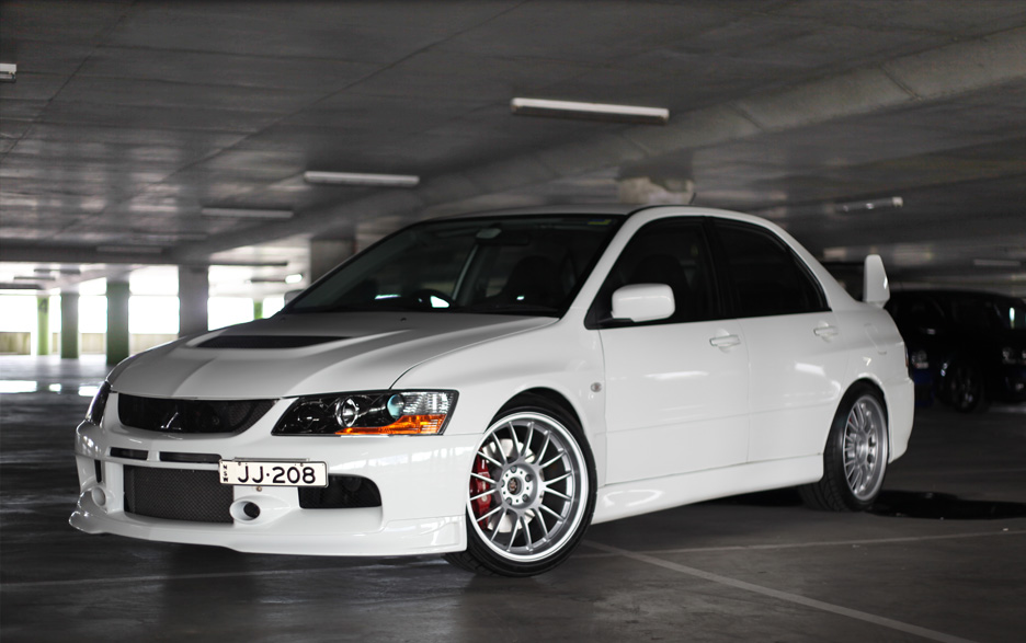 Evo 9 With Volk Se37k Evolutionm Mitsubishi Lancer And