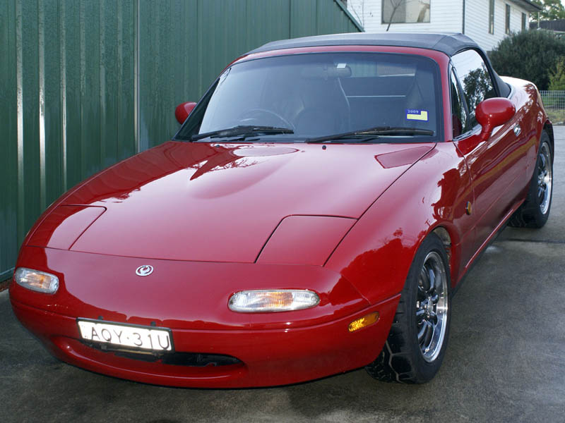 The old MX5