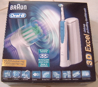 Sanmo Oral B 3d Excel Electric Toothbrush