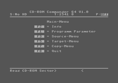 on a real Commodore 64 use: D64, D71, D81, Doc, Wav, MP3, gif, jpg