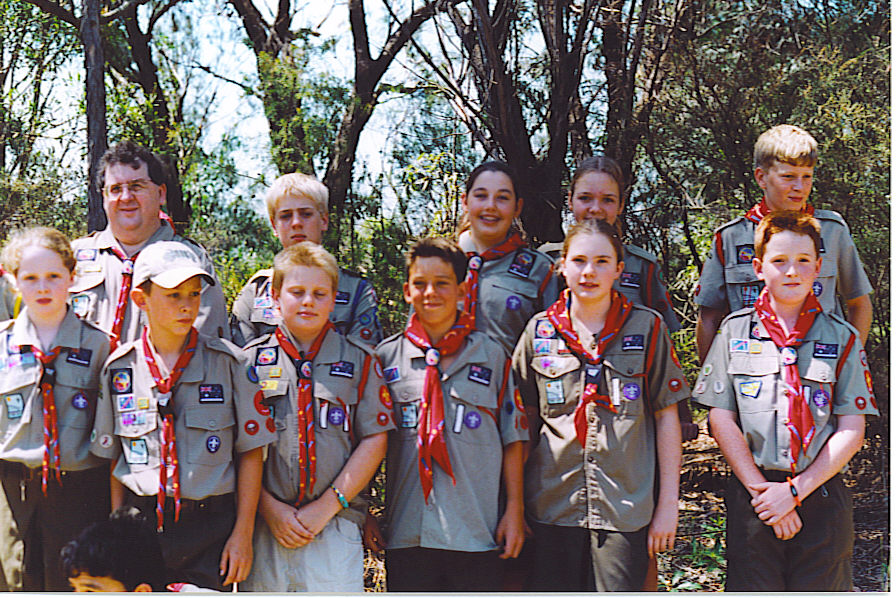 Davidson Scouts enjoy the outdoors