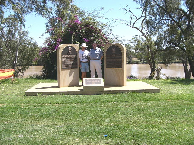 With Balonne Shire Mayor at St George