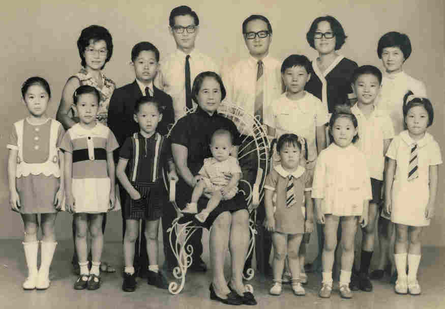 Mother's Family Photo Seremban 1971