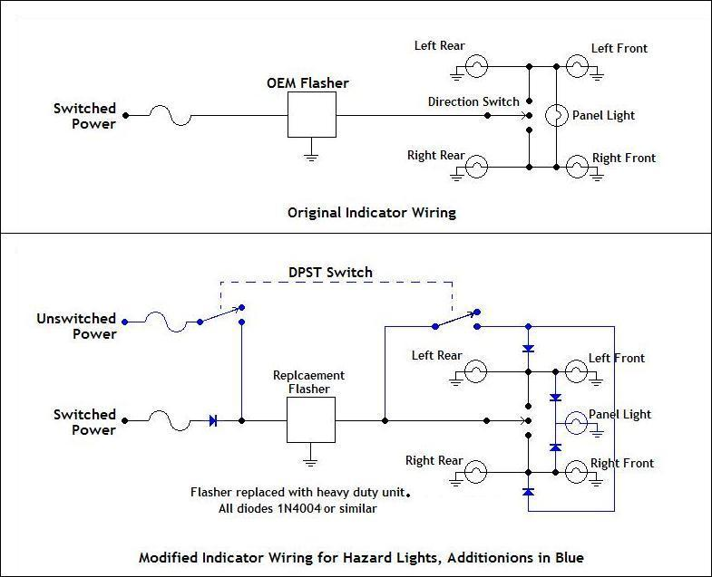 hazard_lights_circuit hazard lights 1987 mustang hazard light wiring diagram at bakdesigns.co