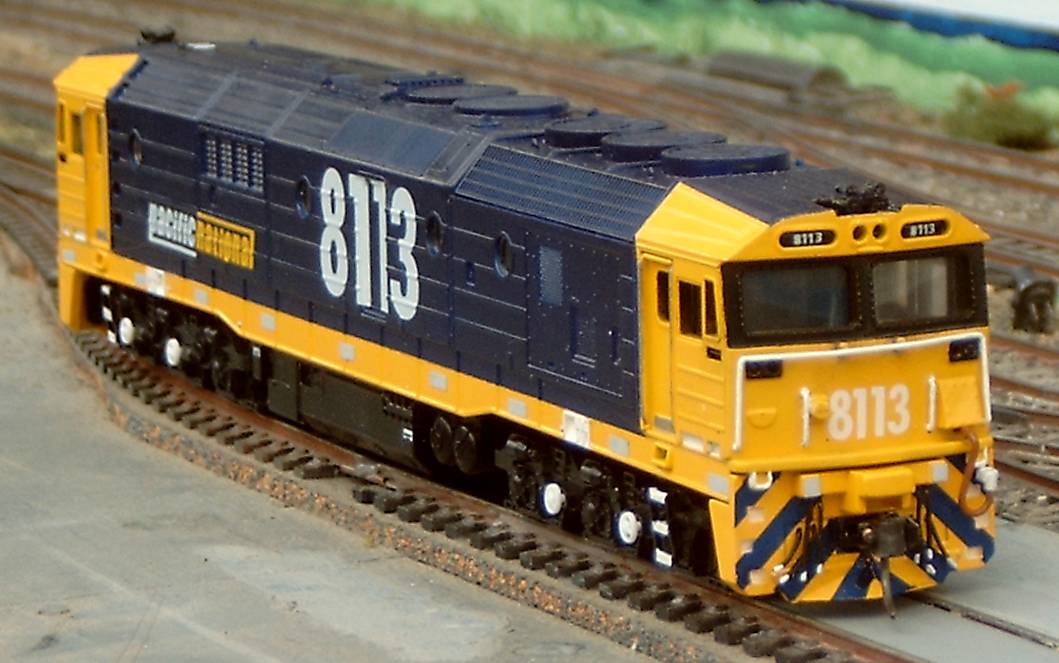 Detail of Pacific National 8113