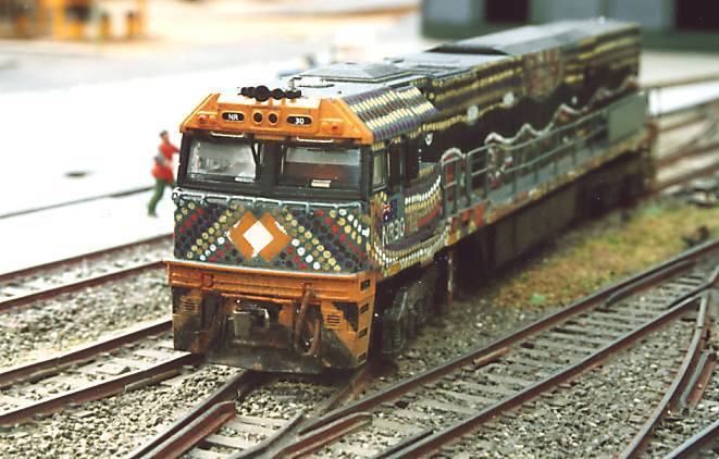 Front of NR30 with in cab detail $800