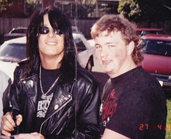 Nikki Sixx made a visit to Triple M Melbourne before their ...