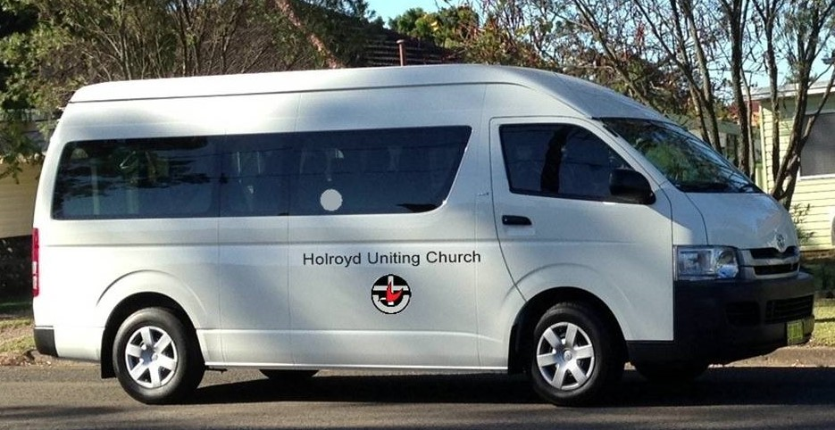 Our Toyota 12 Seater Bus