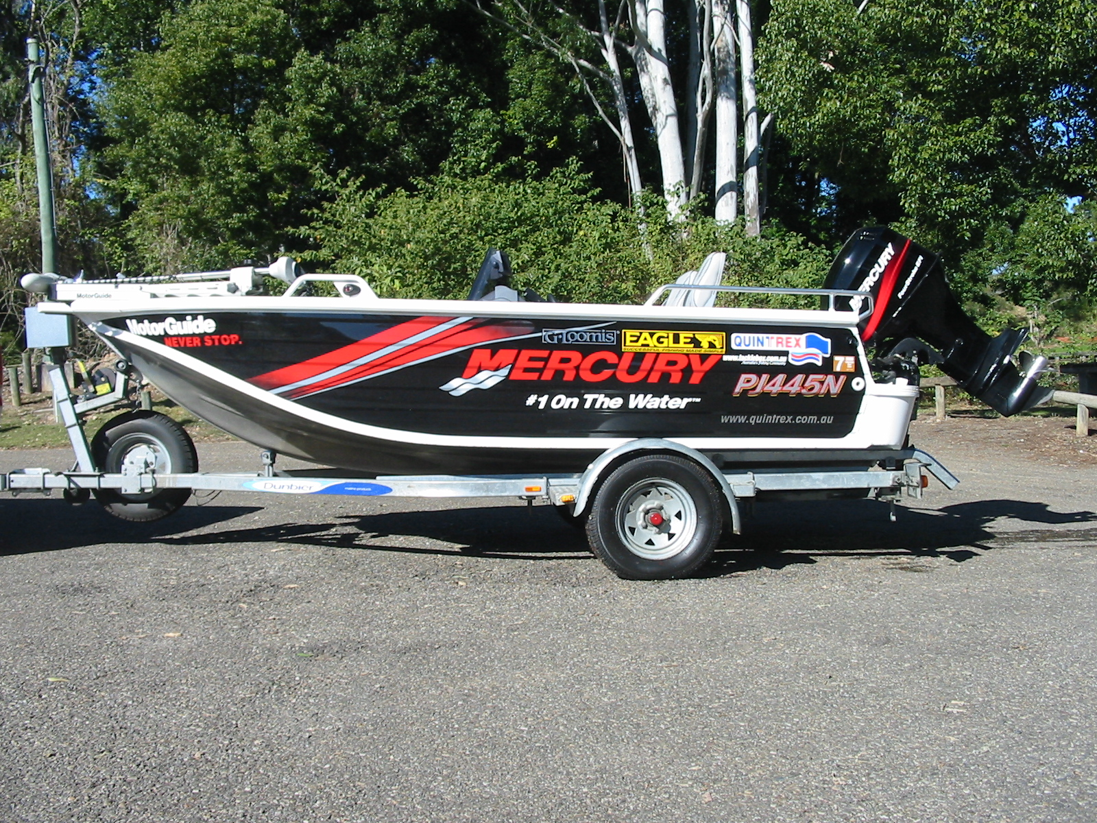 60 HP Mercury 4 stroke,