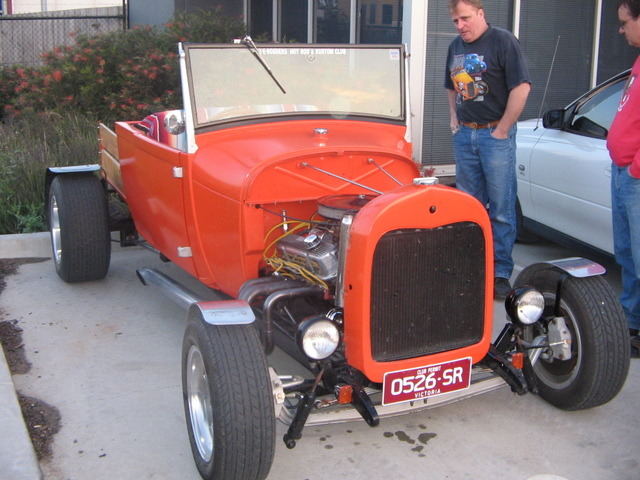 my 1928 model A roadster pickup