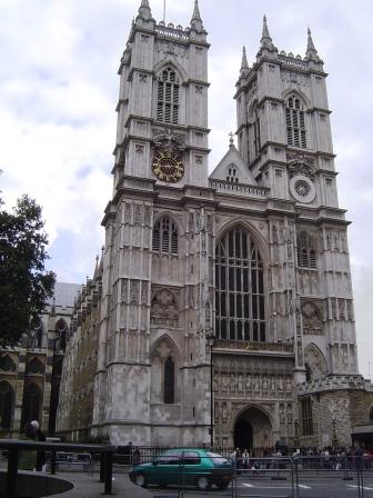 Westminster Abbey - western door