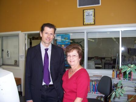 The Director General and Mrs Dyer